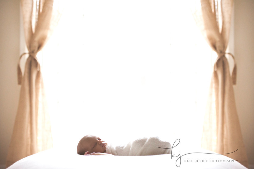 Annandale VA Newborn Baby Girl Photographer | Kate Juliet Photography