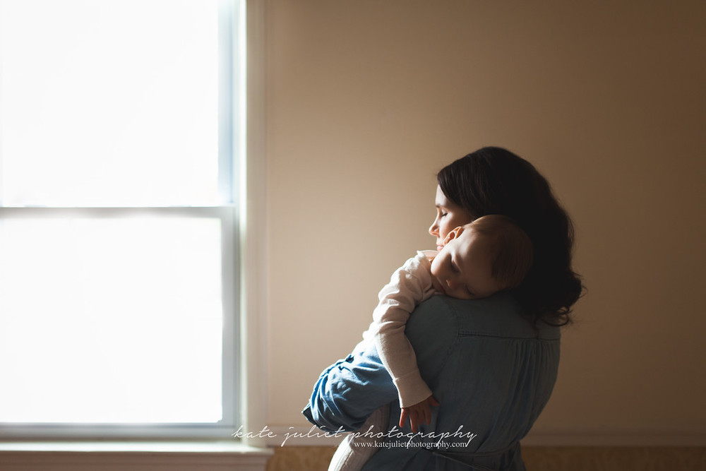 One year old sleeping - Arlington, VA | Kate Juliet Photography