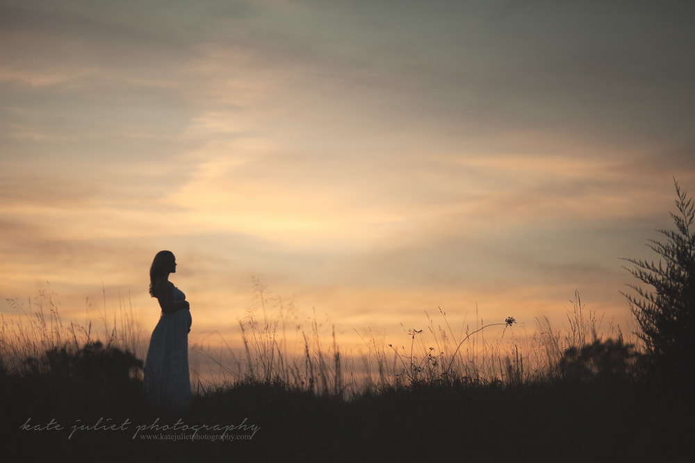Leesburg VA Pregnancy Maternity Photographer | Kate Juliet Photography