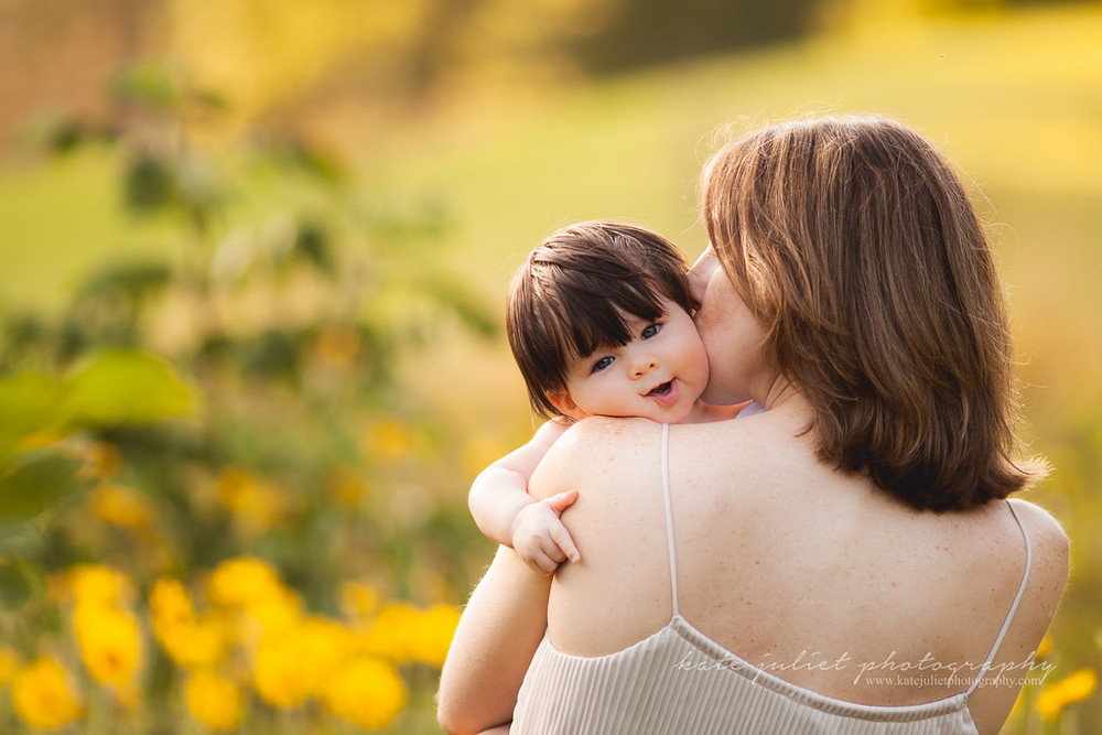 Arlington VA Mommy and Me Mother-Daughter Family Photographer | Kate Juliet Photography