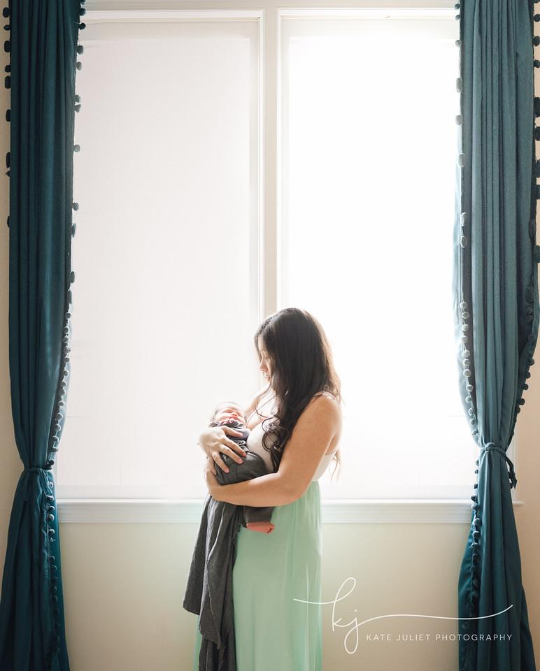 Northern VA Fairfax County Newborn Family Photographer | Kate Juliet Photography
