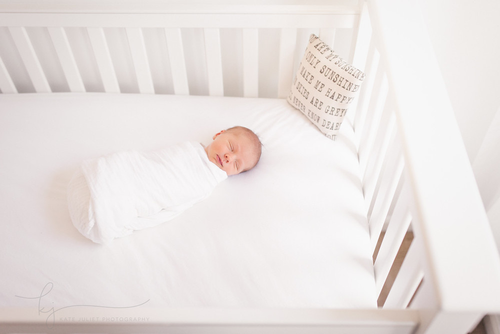 Fairfax VA Newborn Baby Girl Photographer | Kate Juliet Photography
