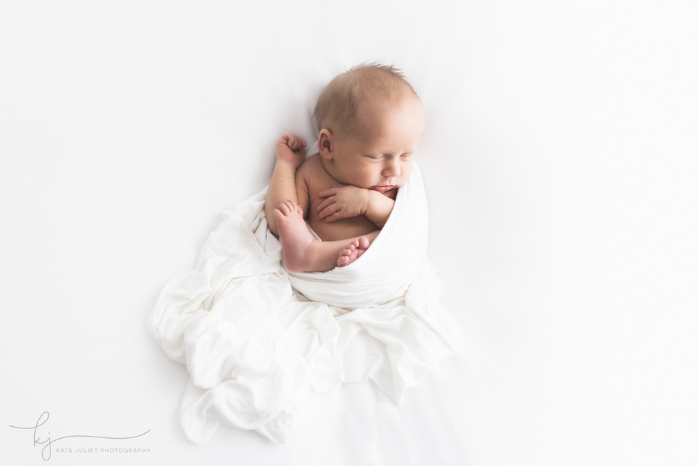 Arlington VA Fine Art Natural Newborn Photographer | Kate Juliet Photography