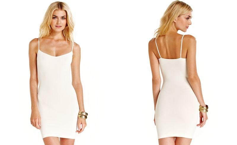 Slip Dress - Ivory - XS/S & M/L