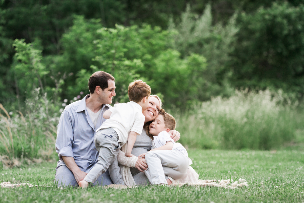 Fairfax VA Family Maternity Photographer | Kate Juliet Photography