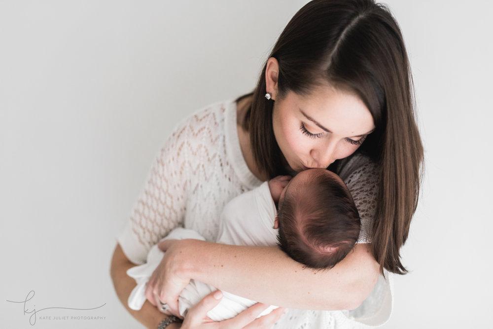 Fairfax VA Newborn Baby Photographer | Kate Juliet Photography