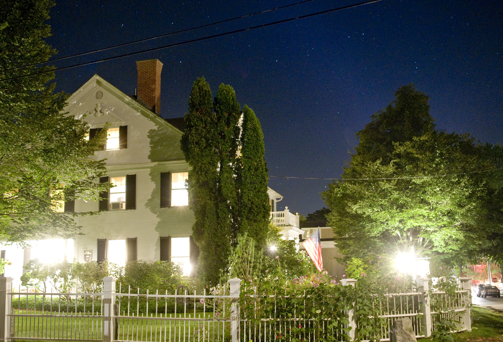 One of the many charming inns of Kennebunkport