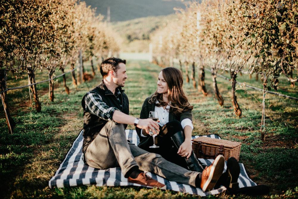 Charlottesville Vineyard Engagement