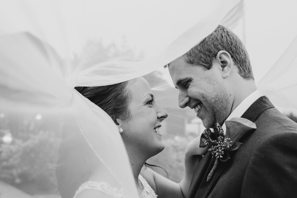 vibrant fall mountain wedding