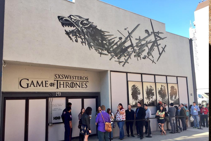 SXSW Game of Thrones