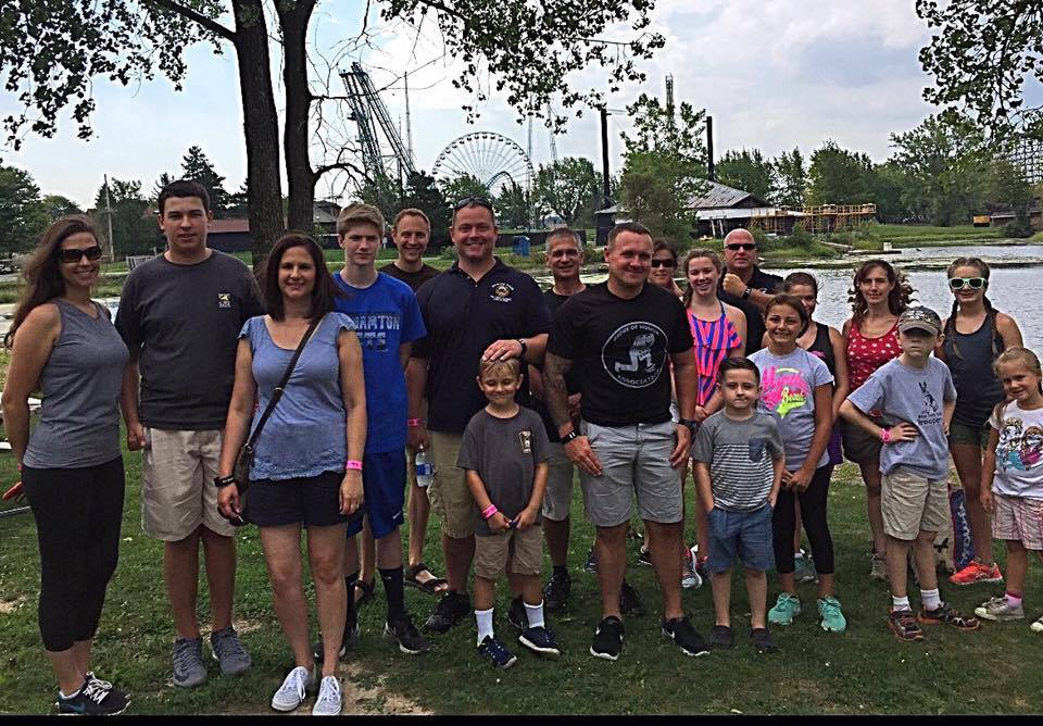 BOHA sponsored event at Darien Lake for the 11 Officers' families. It is events like these that ensure the fallen and their families are never forgotten. Donations to our organization make things such as this possible.