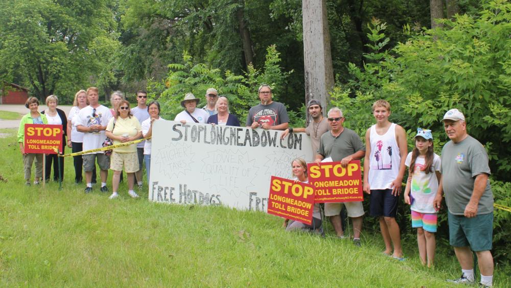Against Longmeadow but FOR free hotdogs!