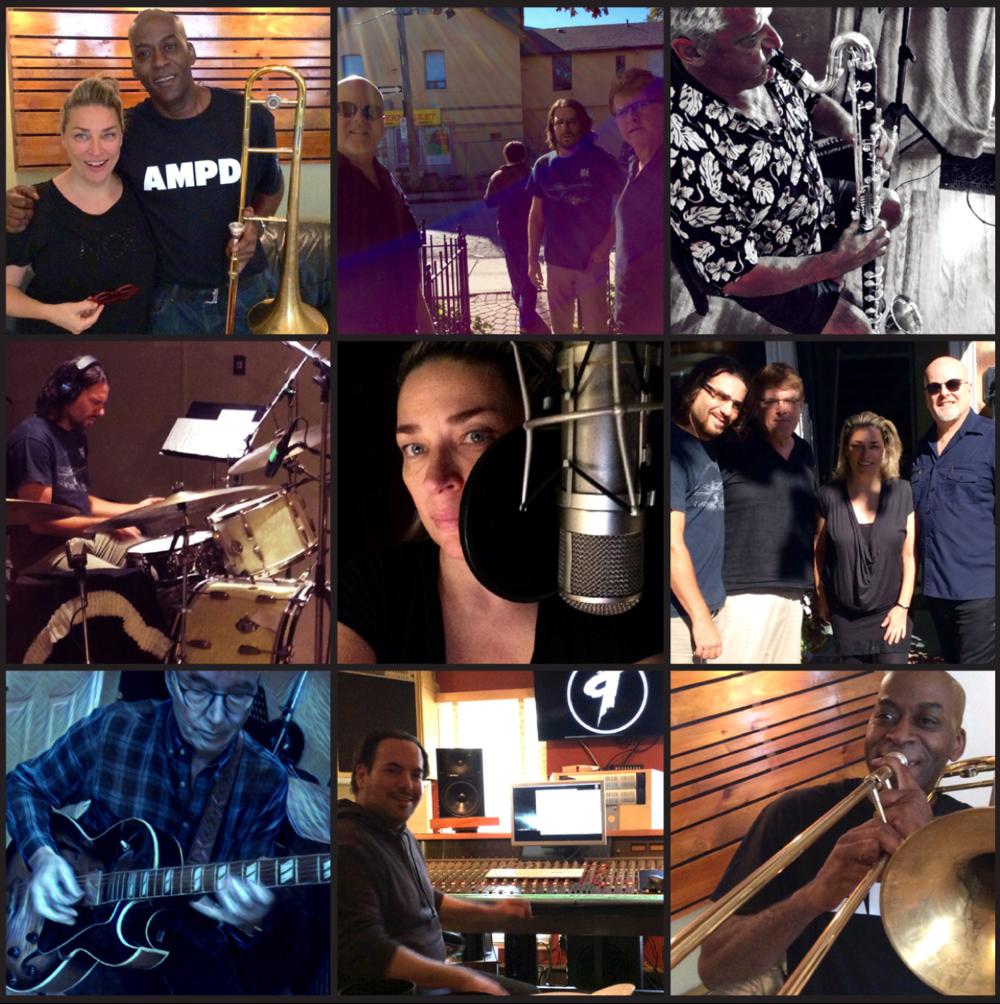 Number 9 Recording Studio. Linda Carone's debut cd.