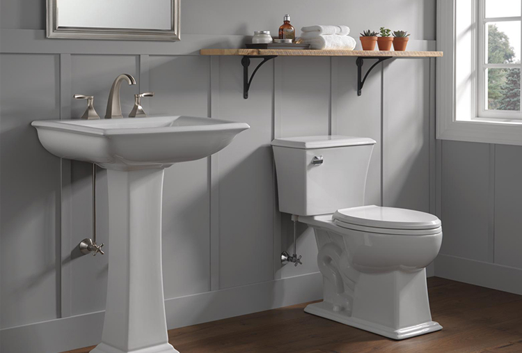 Everly Two-Handle Widespread Bathroom Faucet