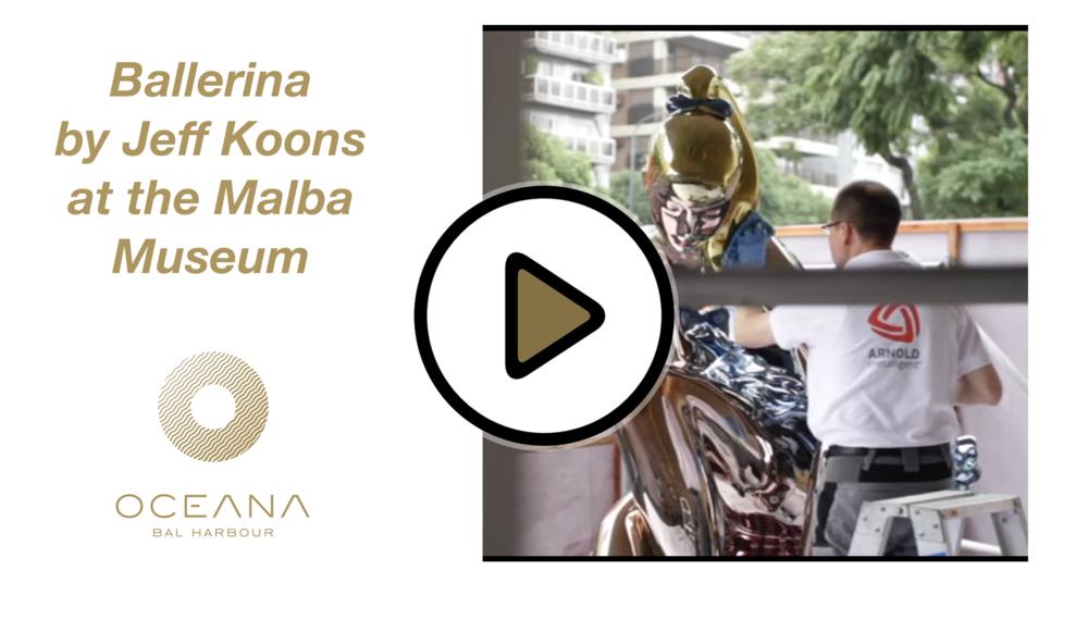 Ballerina in Malba by Jeff Koons