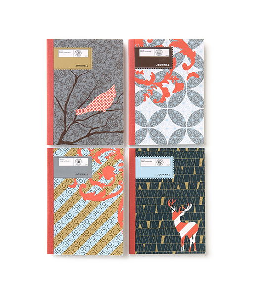 Notebook   Notebooks design as holiday gifts for clients of Axiom Design