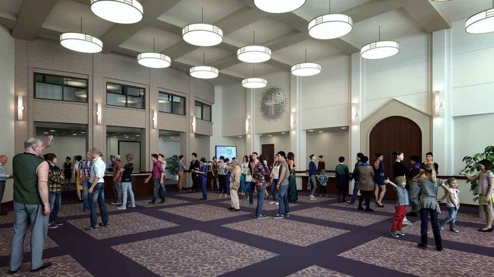 Rendering of the Welcome Center