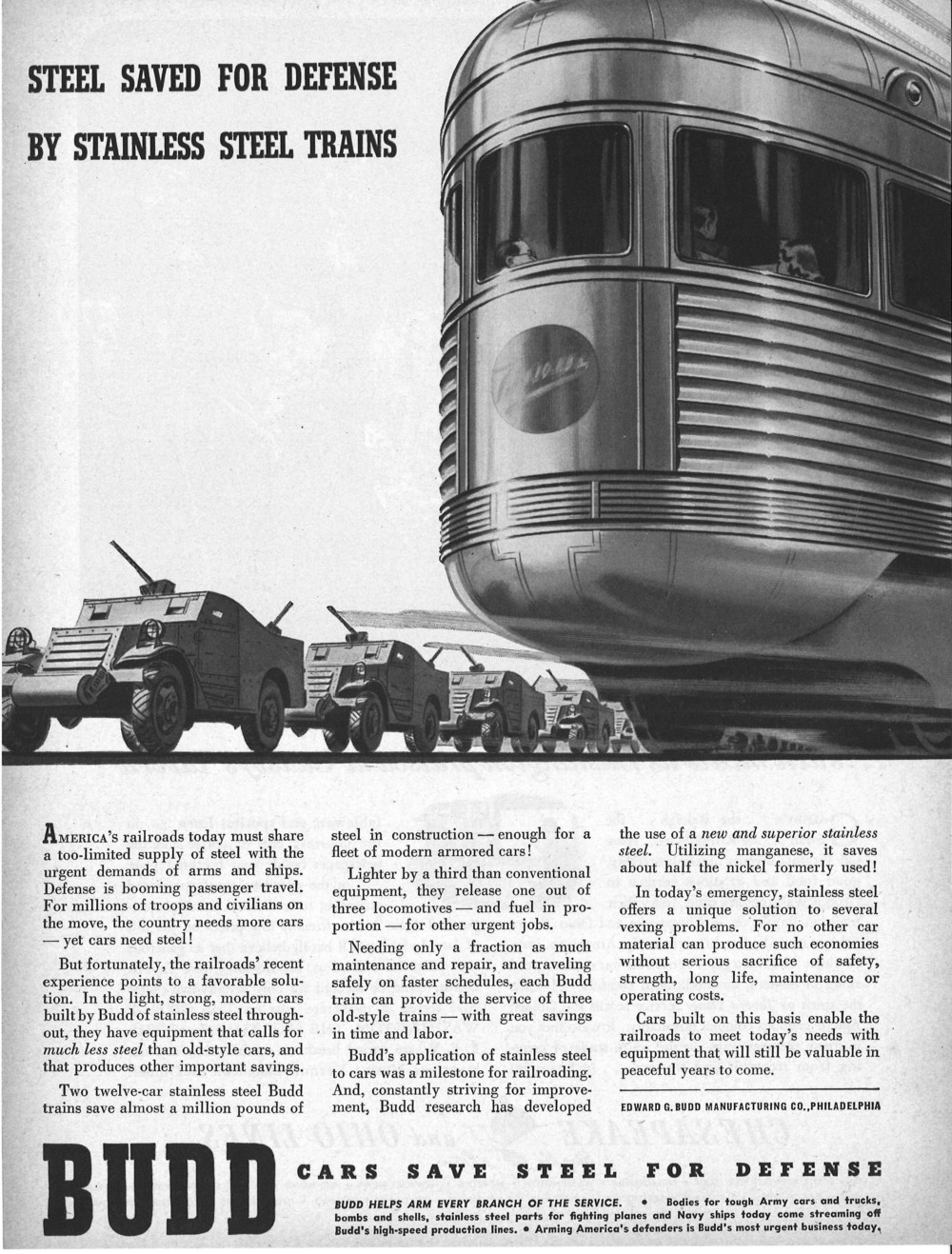 Budd Steel Saved For Defense By Stainless Steel Trains.jpg