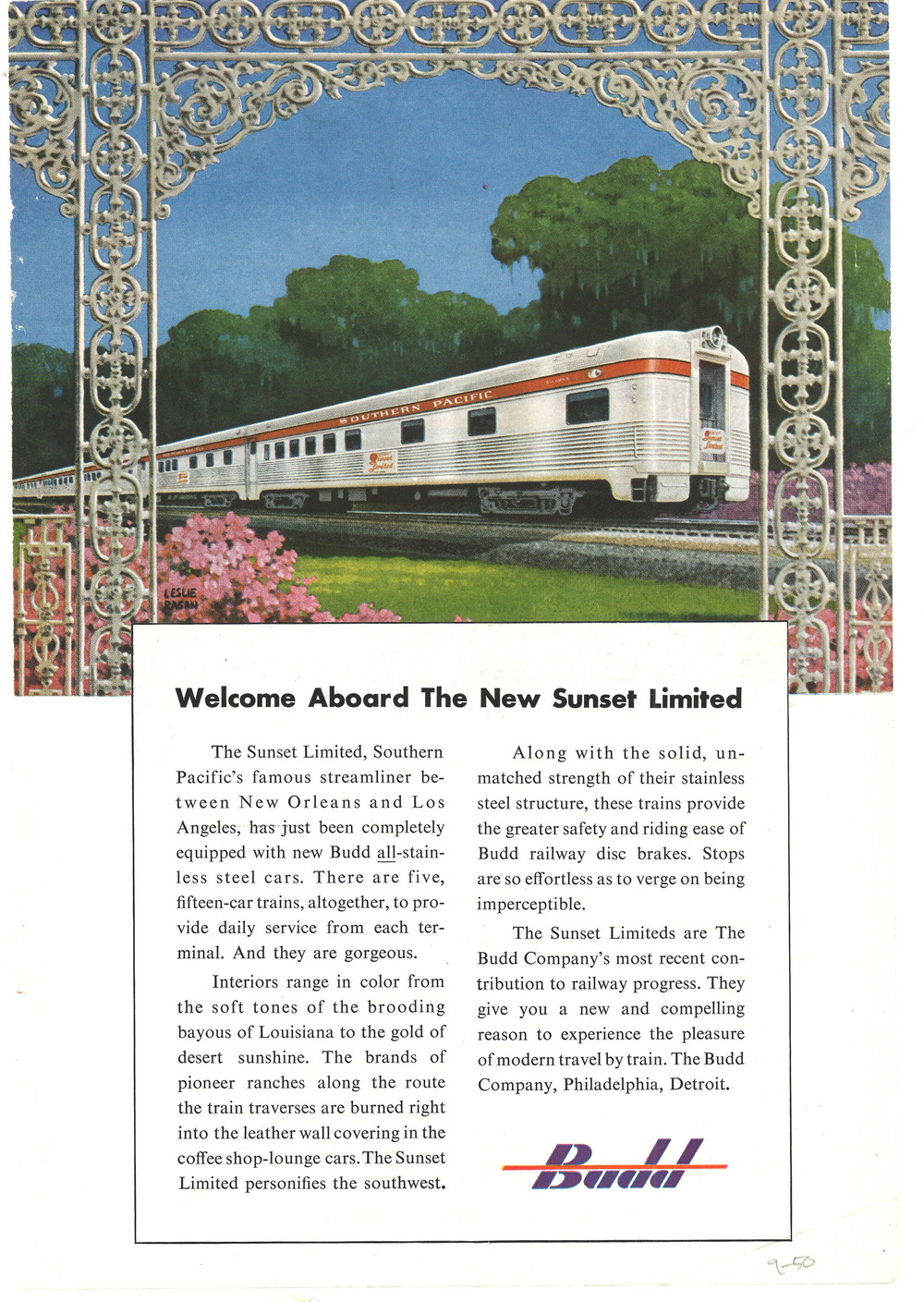Budd - Welcome Aboard The New Sunset Limited.jpg