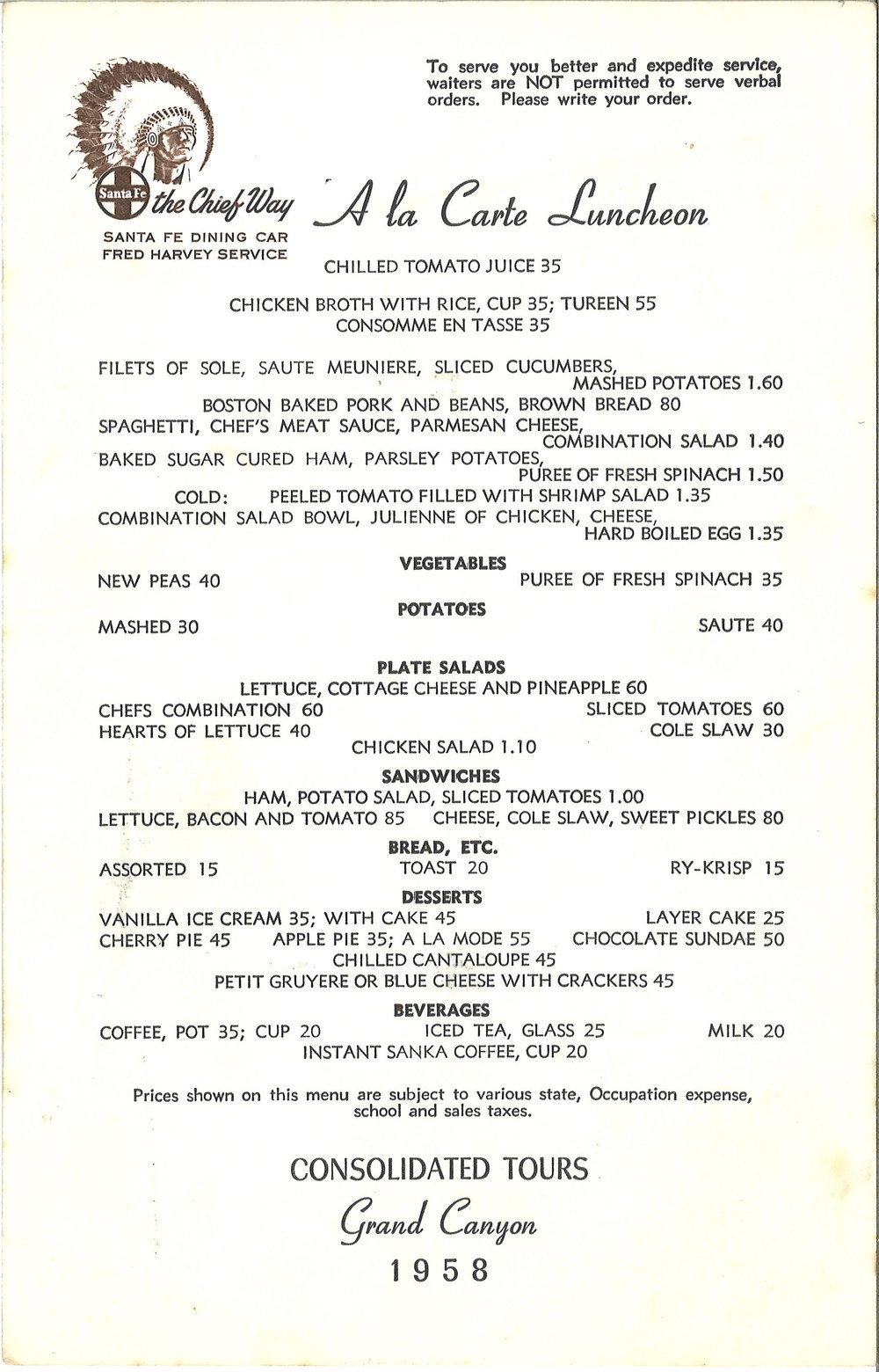 Santa Fe The Chief Way menu.jpg