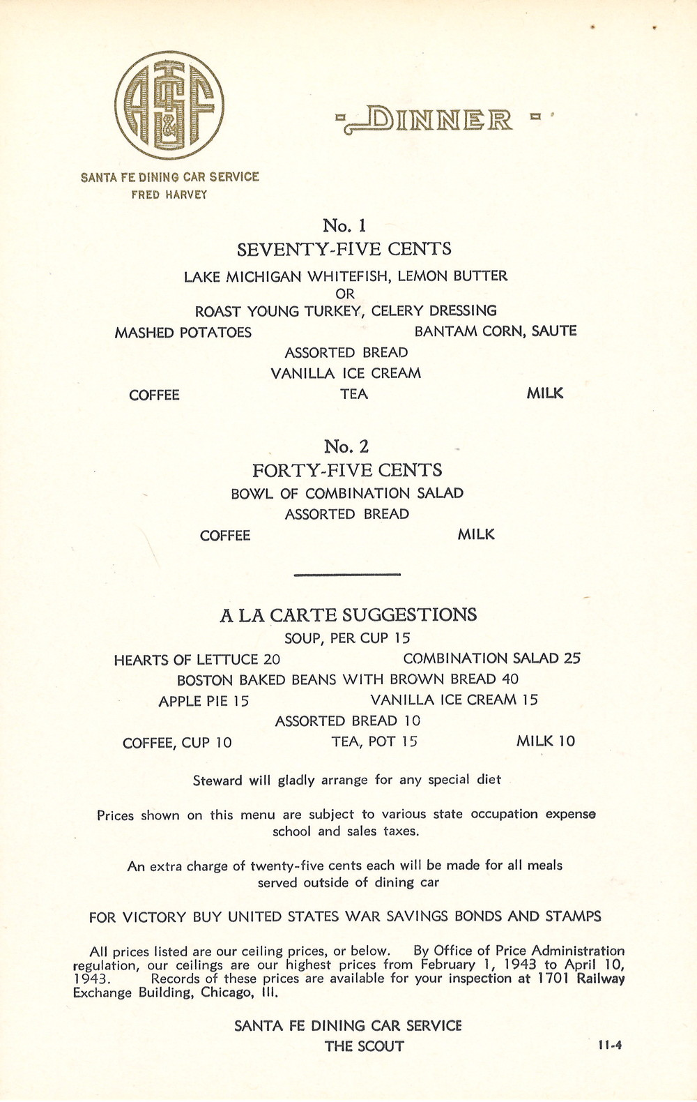 Santa Fe The Scout Dining Car Service Menu.jpg