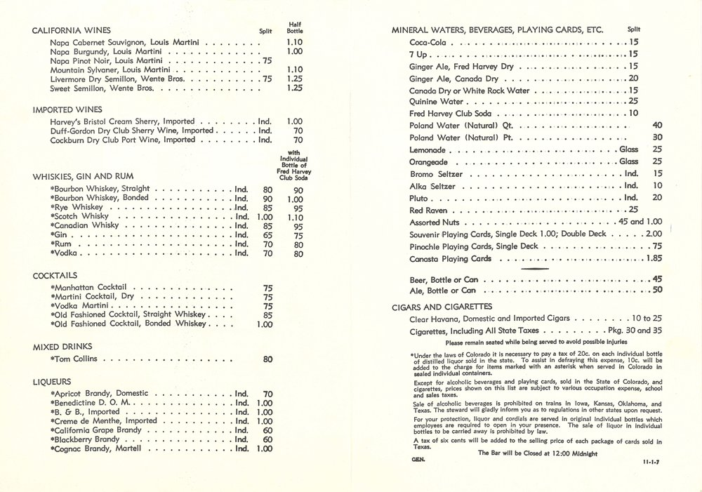 Santa Fe Fred Harvey Service Beverage List 2a.jpg