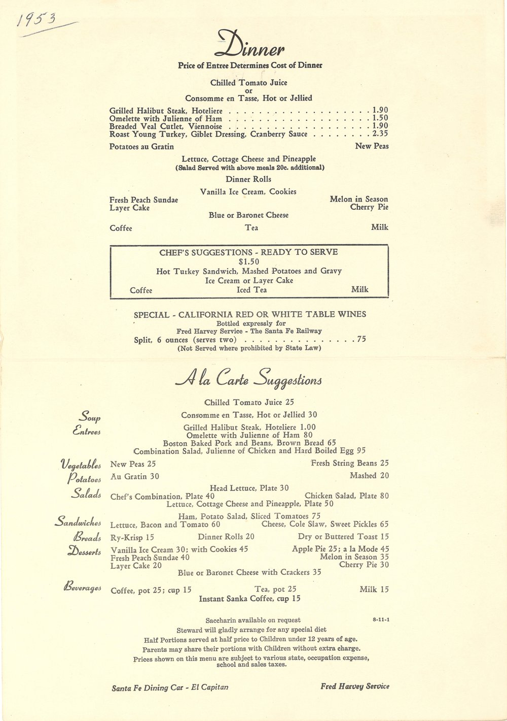 Santa Fe Grand Canyon Dinner Menu 1953-2.jpg