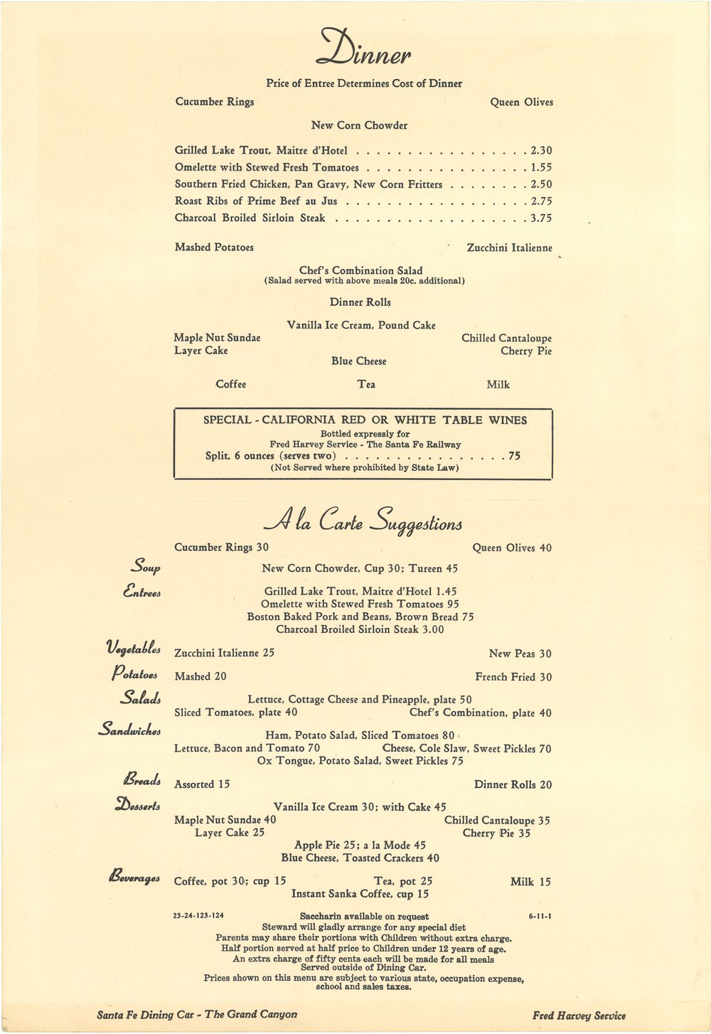 Santa Fe Monument Valley Dinner Menu Sm2.jpg