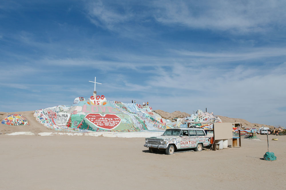 salvation mountain | jessie webster