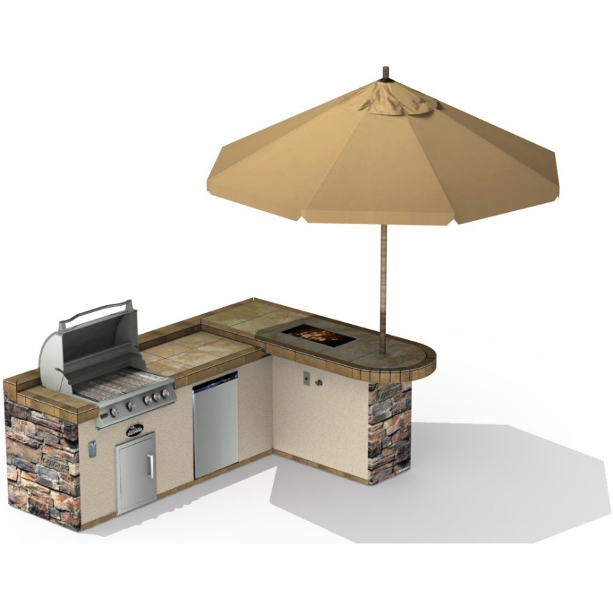 RBI Kitchen Island