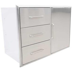 Saber Door/3 Drawer Combo (HWO-SD3C) $1,309