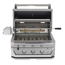 "Twin Eagle 30"" w/ Rotisserie & Sear Zone (TEBQ30RS-B)      $7,729"