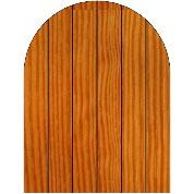 Cedar Door (Radius) (HWO-CDR)