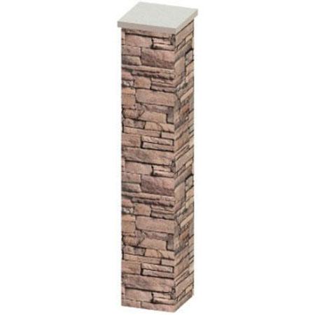 "96"" Stone Column"