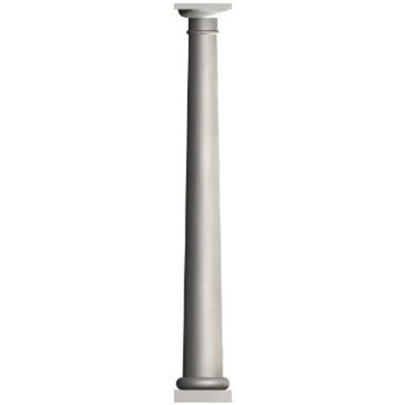 "10"" x 8' Round Tapered Column"