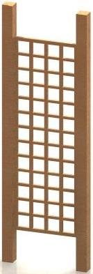 2' x 6' Trellis Panel