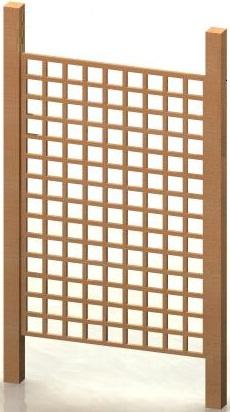 4' x 6' Trellis Panel