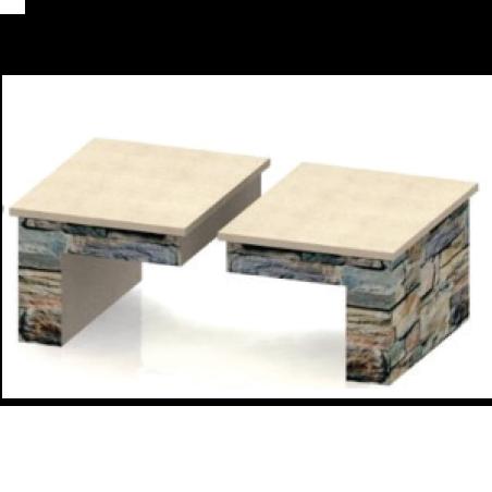 Small Wood Box (Pair)