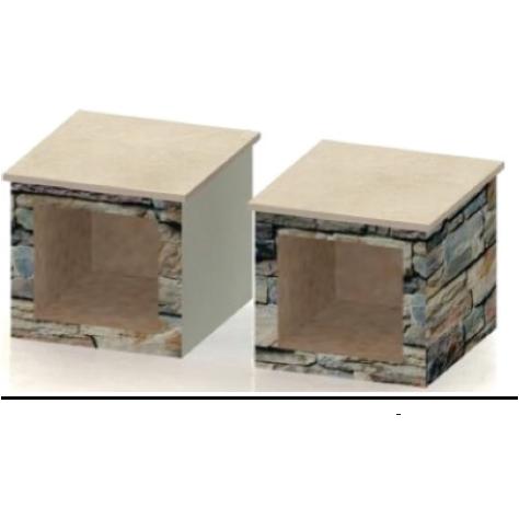 Large Wood Box (Pair)