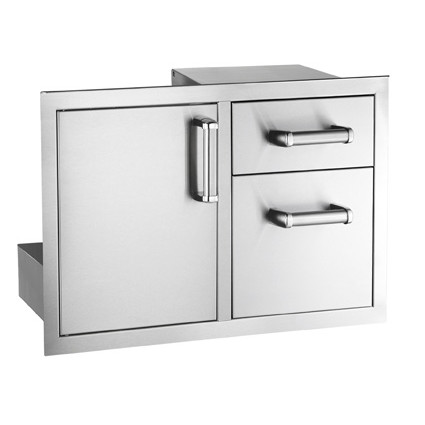 Fire Magic Double Door w/ Drawers (53930S-22)      $1,669