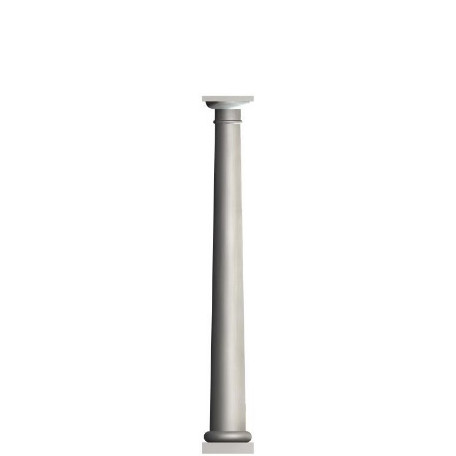 "10""x 8' Round Tapered Column $629"