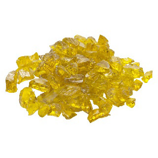 "1/2"" Yellow Glass (10 lbs)   $105"