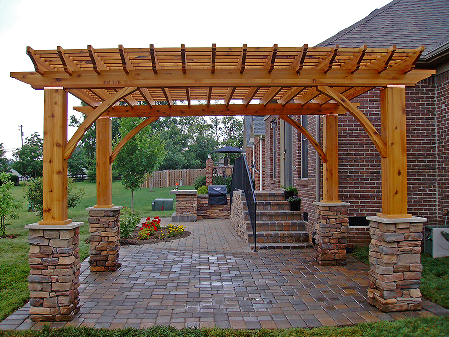 Rustic Pergola w_36inStonebase_customkitchen_screen_900px.jpg