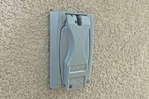 External Electrical Outlet -