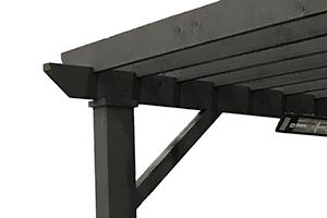Angled Corner Supports -