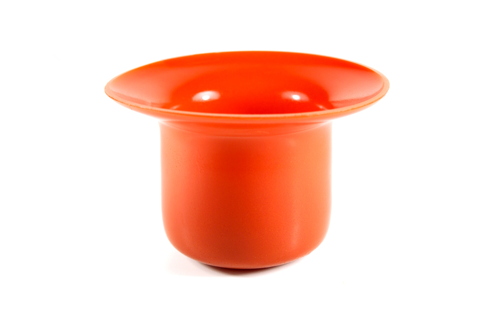 Jelly food nest cup made with tomato