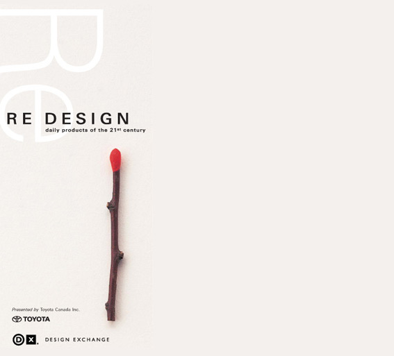 RE:Design exhibition book cover