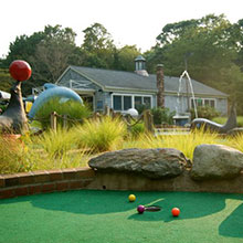 WHALE'S TALE MINI GOLF
