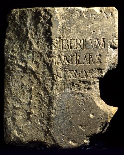 The Caesarea Stone, Israel Museum.