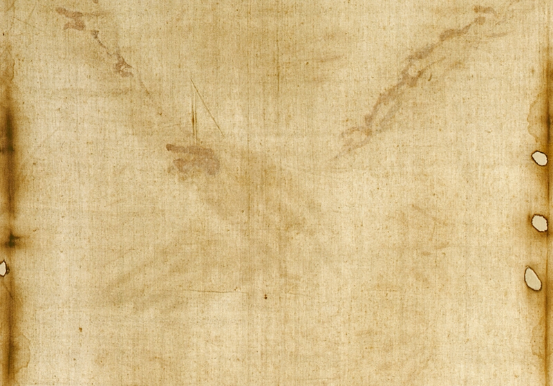 Shroud of Turin, hands area.